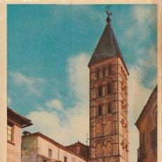 Postales: POSTAL DE SEGOVIA IGLESIA DE SAN ESTEBAN. Lote 235945980