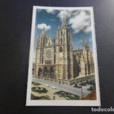 Postales: LEON CATEDRAL. Lote 236167315