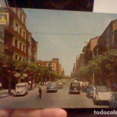 Postales: MIRANDA EBRO AV GENERAL FRANCO ED SVBIRATS 11 ESCRITA COCHES CLASICOS ANIMADA CASAS. Lote 237399880