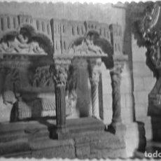 Postales: P-12162. ZAMORA. IGLESIA DE LA MAGDALENA. SEPULCRO ROMÁNICO. CIRCULADA. AÑOS 50.. Lote 239539510
