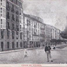 Postais: BURGOS - CALLE DE VITORIA - COLECCIÓN GARCIA. Lote 239930395