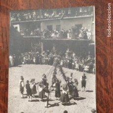 Postales: LA ALBERCA (SALAMANCA) FIESTAS TÍPICAS. SIN CIRCULAR IMPECABLE. Lote 242990335