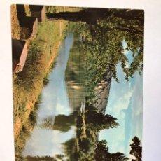 Postales: POSTAL DE SORIA, EL RIO DUERO, SIN ESCRIBIR DE 1963. Lote 243001985