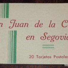 Postales: CUADERNILLO DE SAN JUAN DE LA CRUZ EN SEGOVIA, CONTENIENDO 18 POSTALES, HAUSER Y MENET. Lote 243858725