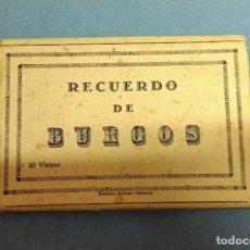 Postales: ANTIGUO ESTUCHE DE 10 POSTALES EN ACORDEON DE BURGOS EDICIONES ARRIBAS. Lote 243867760