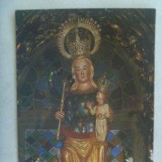 Postales: POSTAL DE SEPULVEDA ( SEGOVIA ): NUESTRA SEÑORA DE LA PEÑA . PATRONA DE LA VILLA. Lote 244192060