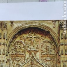 Postales: POSTAL 10. SALAMANCA. PUERTA DE LA CATEDRAL NUEVA. Lote 244411390