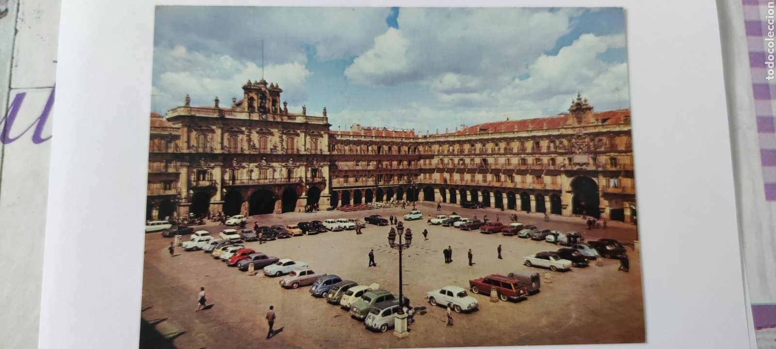POSTAL 4 SALAMANCA. PLAZA MAYOR. 1966 (Postales - España - Castilla y León Moderna (desde 1940))