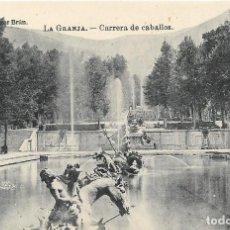 Postales: LOTE DE 5 POSTALES FOTOGRAFICAS DE LA GRANJA. CASTILLA Y LEÓN. Lote 244417635