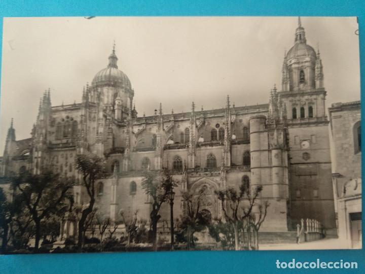 SALAMANCA. CATEDRAL NUEVA. SALVADOR BARRUECO, Nº34. (Postales - España - Castilla y León Moderna (desde 1940))