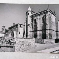 Postales: POSTAL TORDESILLAS, VALLADOLID, IGLESIA DE SAN ANTOLIN Y PALACIO, AÑO 1965. Lote 244467550