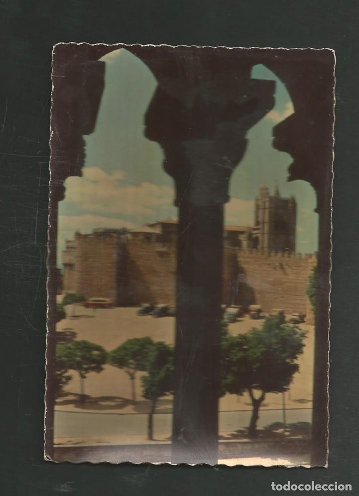 POSTAL SIN CIRCULAR - AVILA 609 - MURALLAS Y CATEDRAL - EDITA GARCIA GARRABELLA (Postales - España - Castilla y León Moderna (desde 1940))