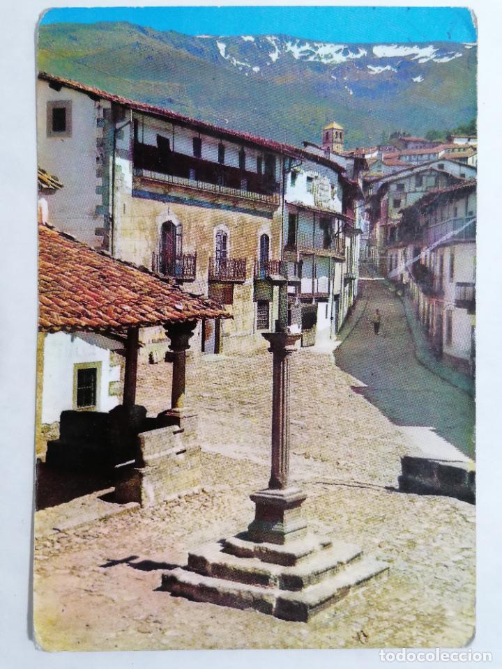 POSTAL CANDELARIO, EL HUMILLADERO, ESCRITO AÑO 1967 (Postales - España - Castilla y León Moderna (desde 1940))