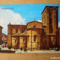 Postales: IGLESIA DE SANTA MARIA LA MAYOR ABSIDE BENAVENTE ZAMORA. Lote 244678375