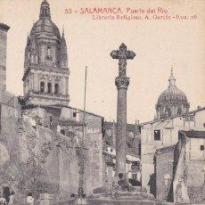 Postales: SALAMANCA, PUERTA DEL RIO. ED. FOTOTIPIA THOMAS Nº 85, LIBRERIA A. GARCIA. SIN CIRCULAR. Lote 244764040