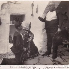 Postales: TOLEDO, LAGARTERA, UNA BODA, LA BENDICION DEL PADRE. FOTO PABLO RODRIGUEZ. TAMAÑO 18 X 11 CM.. Lote 244764635