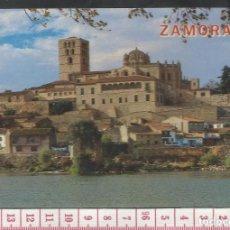 Postales: ST 157 TARJETA POSTAL ZAMORA RIO DUERO CATEDRAL EDICIONES FISA 21 AÑO 1987. Lote 244770255