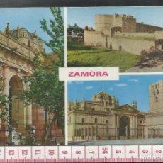 Postales: ST 164 TARJETA POSTAL ZAMORA PUERTA CATEDRAL CASTILLO EDICIONES PARIS 399 AÑO 1967. Lote 244771095