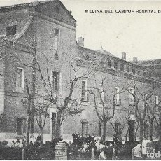 Postales: POSTAL MEDINA DEL CAMPO VALLADOLID HOSPITAL DE SIMON RUIZ. Lote 245113215