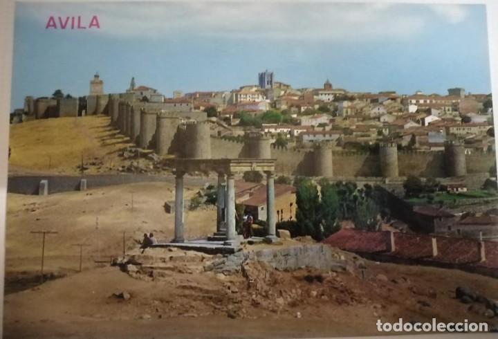 POSTAL DE ÁVILA. VISTA GENERAL (Postales - España - Castilla y León Moderna (desde 1940))