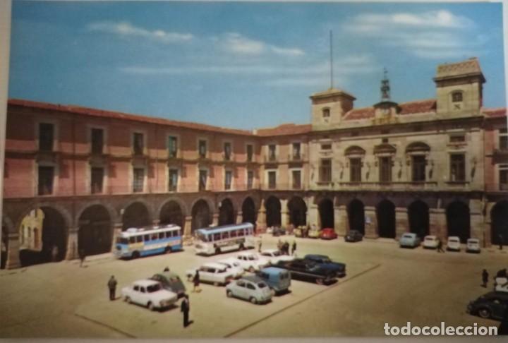 POSTAL DE ÁVILA. PLAZA DE LA VICTORIA Y AYUNTAMIENTO (Postales - España - Castilla y León Moderna (desde 1940))