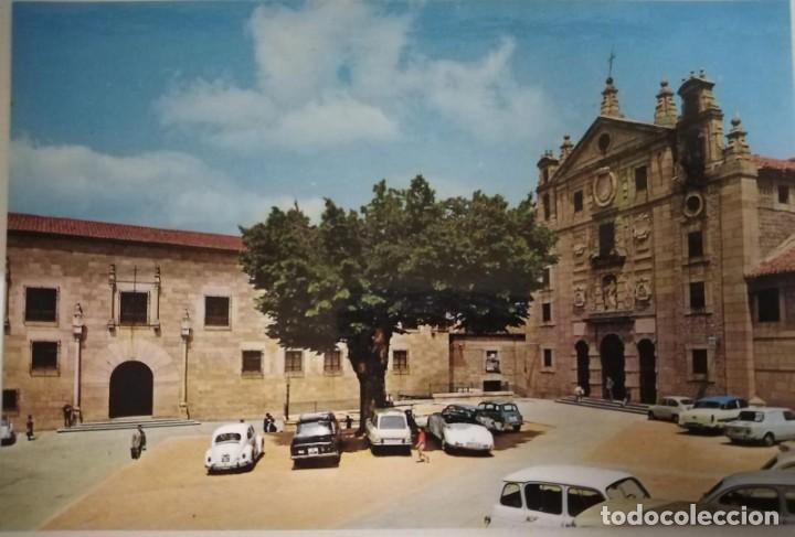 POSTAL DE ÁVILA. FACHADA PRINCIPAL DEL CONVENTO DE SANTA TERESA (Postales - España - Castilla y León Moderna (desde 1940))
