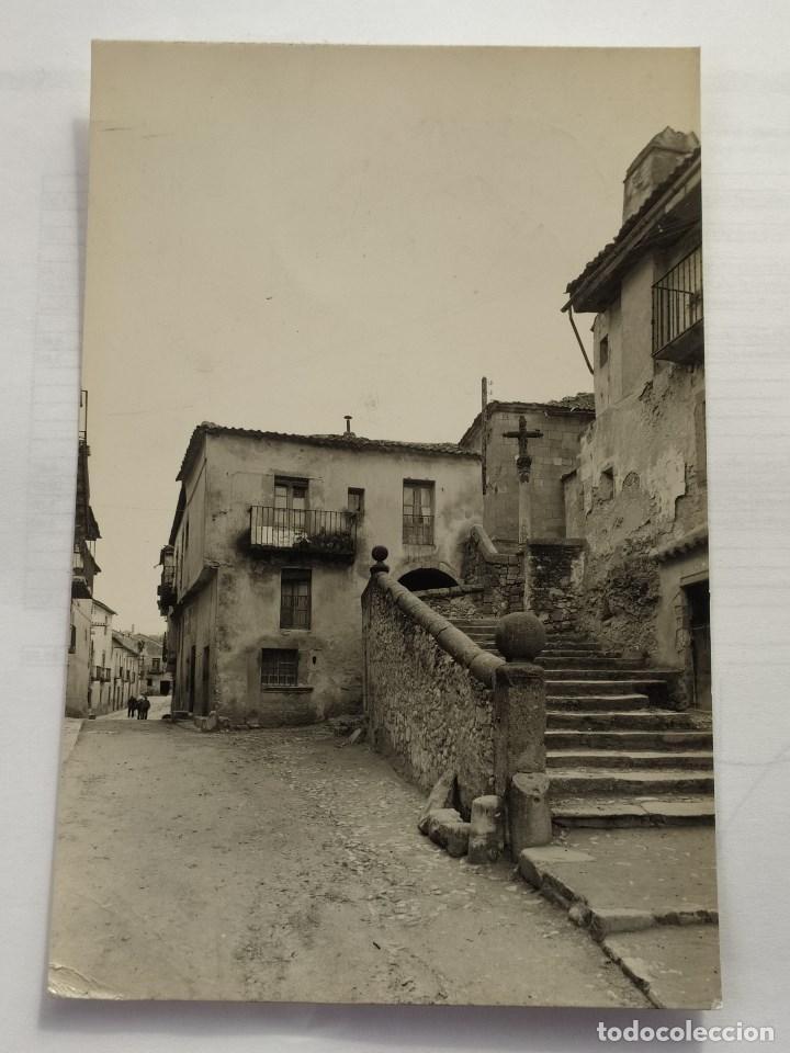 SEGOVIA - SEPULVEDA - SUBIDA A SAN BARTOLOME Nº6 - 1963 - CIRCULADA (Postales - España - Castilla y León Moderna (desde 1940))