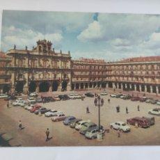 Cartoline: POSTAL 4 SALAMANCA PLAZA MAYOR 1966. Lote 247733315