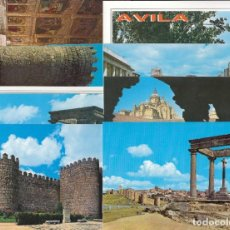 Postales: (24) LOTE DE 15 POSTALES DE AVILA. Lote 251551015