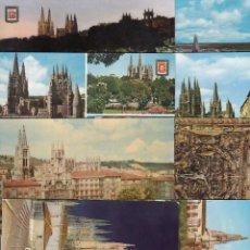 Postales: (26) LOTE DE 12 POSTALES DE BURGOS. Lote 251551530