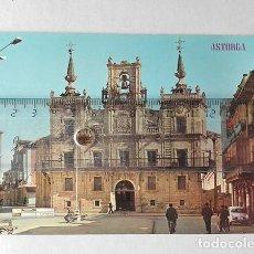 Postales: ASTORGA (LEÓN) Nº. 436, PLAZA DE ESPAÑA Y AYUNTAMIENTO. EDICIONES PARÍS.. Lote 251593005