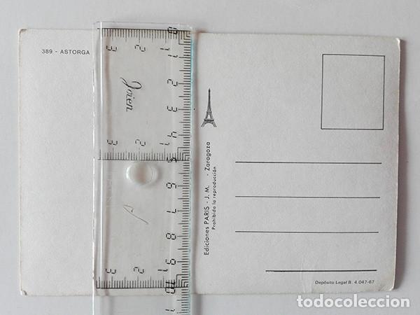 Postales: Astorga (León) nº. 389. Ediciones París. - Foto 2 - 251593565