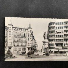 Postales: LEÓN - GLORIETA DE GUZMÁN EL BUENO Y AVDA. DE ROMA - Nº 204 ED. ARRIBAS. Lote 252346265