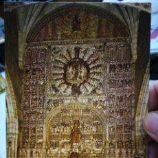Postales: POSTAL BURGOS IGLESIA DE SAN NICOLÁS RETABLO SIMÓN DE COLONIA SIGLO CV N 56 SUBIRATS CASANOVAS S/C. Lote 253685865