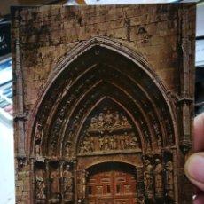 Postales: POSTAL BURGOS IGLESIA DE SAN ESTEBAN PUERTA PRINCIPAL SIGLO XIV N 82 ARRIBAS S/C. Lote 253686725