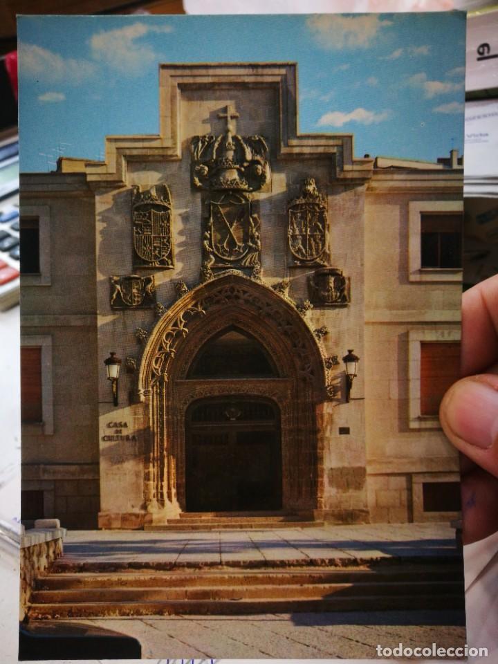 POSTAL BURGOS CASA DE LA CULTURA PORTADA DEL SIGLO CV N 86 ARRIBAS S/C (Postales - España - Castilla y León Moderna (desde 1940))
