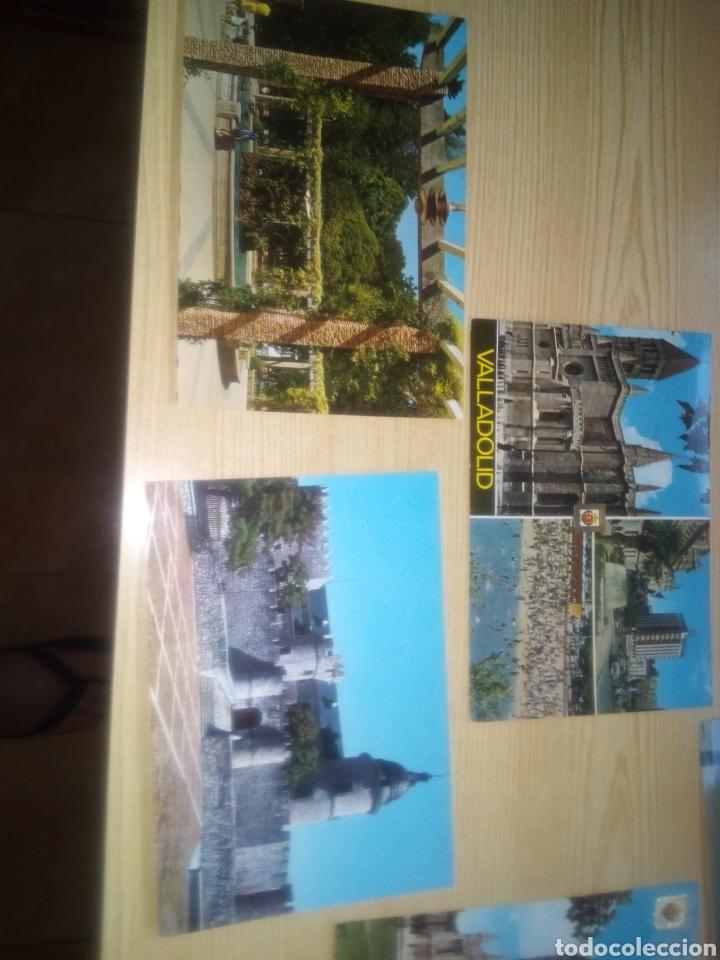 Postales: Lote de 8 postales de Valladolid. Años 60-70 - Foto 4 - 254035725