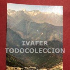 Postales: POSTAL PUERTO DE PAJARES, PARADOR NACIONAL DE TURISMO, LIMITE ENTRE ASTURIAS Y LEON. Lote 254464090
