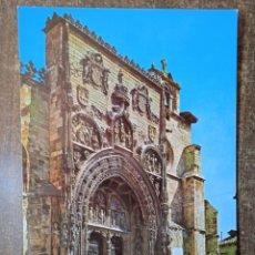 Postales: POSTAL ARANDA DE DUERO-FACHADA DE SANTA MARÍA.SIN CIRCULAR.. Lote 254503895