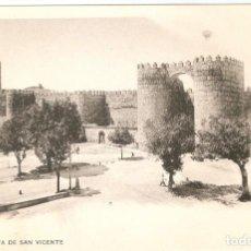 Postales: AVILA - PUERTA DE SAN VICENTE H. Y M. S.C.. Lote 254617040