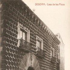 Postales: SEGOVIA. CASA DE LOS PICOS THOMAS SIN CIRC.. Lote 254625335