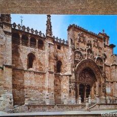 Postales: POSTAL ARANDA DE DUERO- IGLESIA DE SANTA MARÍA. CIRCULADA.. Lote 254697545