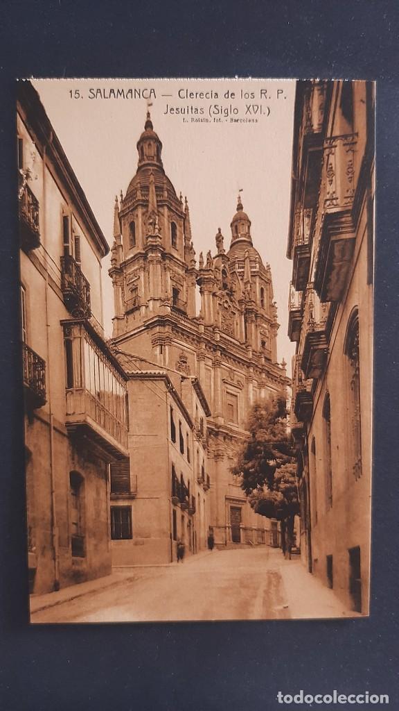 LOTE 16042021- POSTAL DE SALAMANCA, N.15 CLERECIA DE LOS R.P. AGUSTINOS, ED. L. ROISIN, NO CIRCULADA (Postales - España - Castilla y León Antigua (hasta 1939))