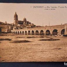Postales: LOTE 16042021- POSTAL DE SALAMANCA, N.1 , RIO TORMES PUENTE ROMANO, ED. L. ROISIN, NO CIRCULADA. Lote 254945660
