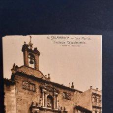 Postales: LOTE 16042021- POSTAL DE SALAMANCA, N.4 , SAN MARTIN. FACHADA DEL RENACIMIENTO ED. L. ROISIN, NO CIR. Lote 254945875