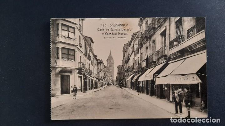 LOTE 16042021- POSTAL DE SALAMANCA, N. 120 CALLE DE GARCIA BARADO, ED. L. ROISIN, NO CIRCULADA (Postales - España - Castilla y León Antigua (hasta 1939))
