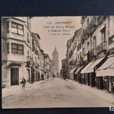 Postales: LOTE 16042021- POSTAL DE SALAMANCA, N. 120 CALLE DE GARCIA BARADO, ED. L. ROISIN, NO CIRCULADA. Lote 254946415