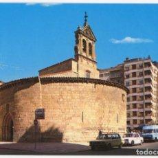 Postales: EM0421 SALAMANCA IGLESIA DE SAN MARCOS 1967 ARRIBAS Nº108 SEAT 1430 RENAULT 8 FURGO. Lote 254963460