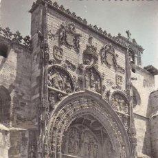 Postales: BURGOS, ARANDA DE DUERO, PARROQUIA SANTA MARIA, FACHADA. ED. SICILIA Nº 2. SIN CIRCULAR. Lote 257297180