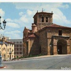 Postales: EM0733 SORIA IGLESIA DE SAN JUAN DE RABANERA 1963 GARRABELLA Nº3 SEAT 600. Lote 257924405